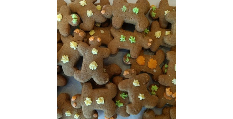 Gingerbread Men/House